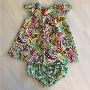 Vera Bradley Tutti Frutti Dress and Bloomers